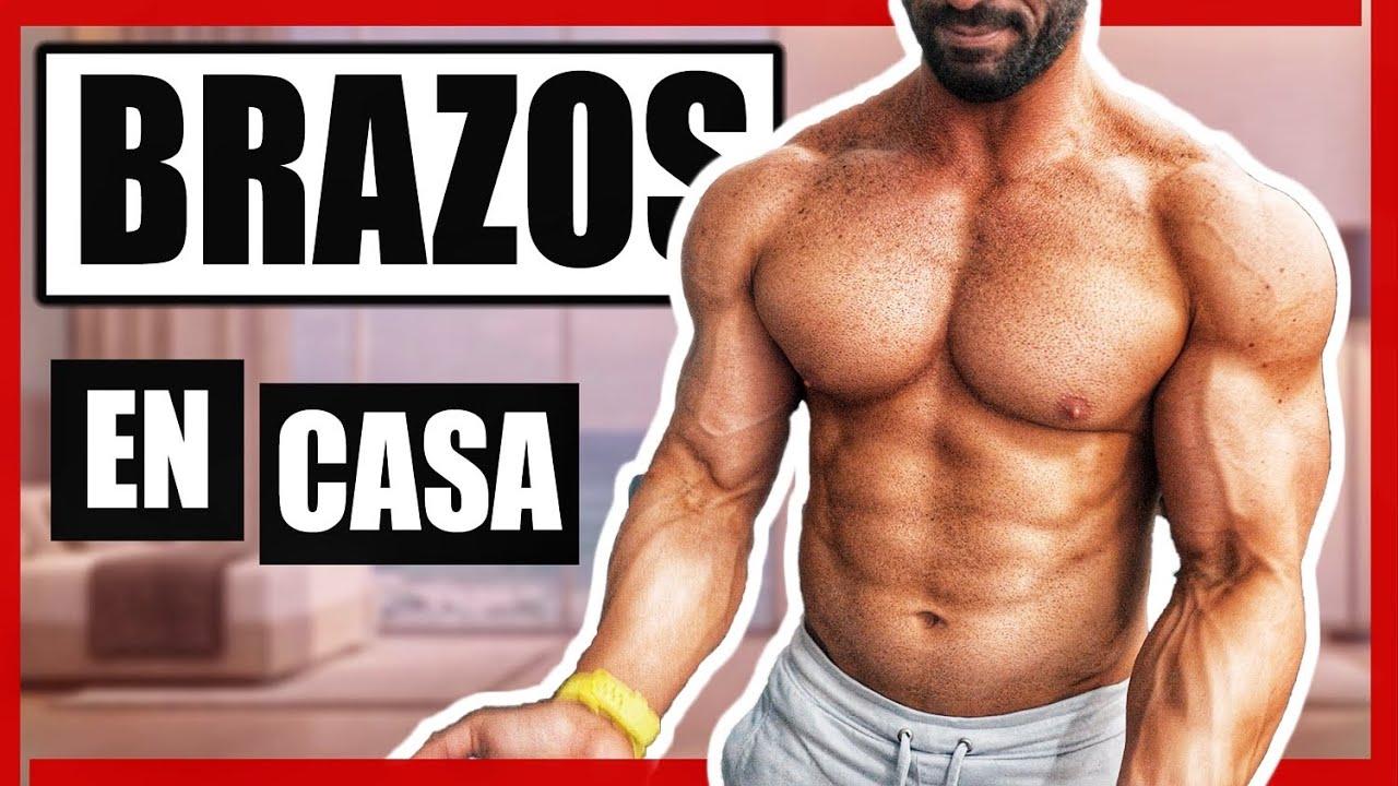 RUTINA DE BRAZOS INTENSA EN CASA (MUY FUERTE) - gymtopz