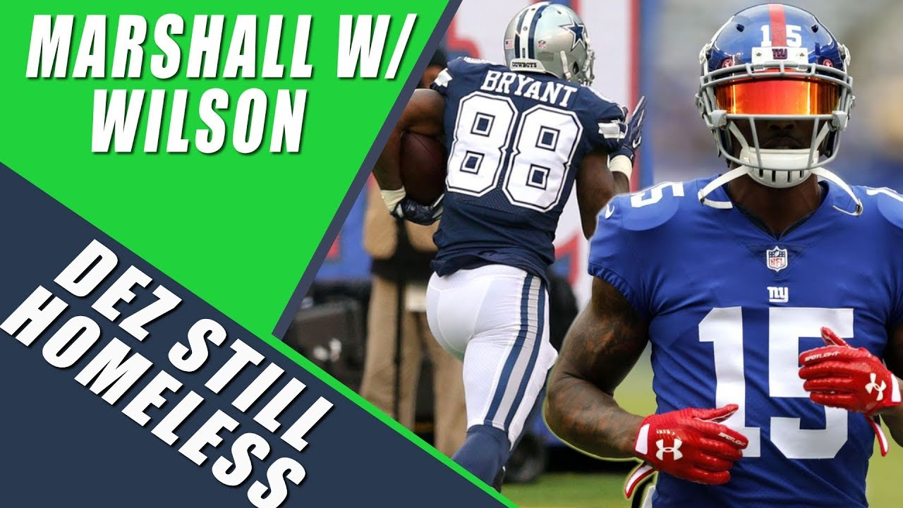 brand new b06df 30203 Brandon Marshall to Seattle Seahawks, Dez Bryant Unsigned, & Davante Adams  NFL Top 100