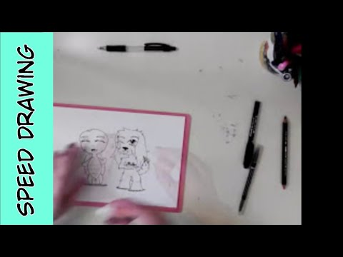 Chibi Pets SPEED DRAWING
