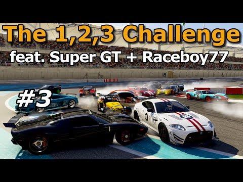 Forza 6 | THE 1,2,3 CHALLENGE w/ Super GT | Raceboy77 #3