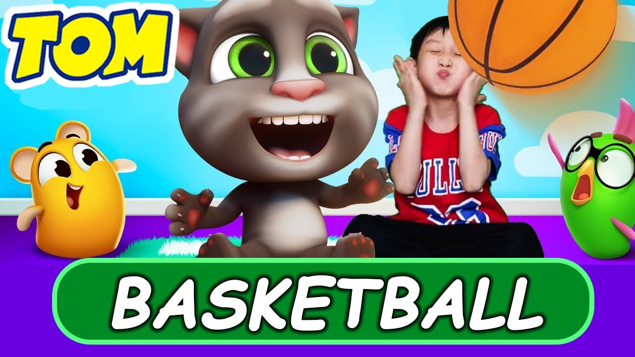 🏡🏀 My Talking Tom Friends in REAL LIFE is here! 🎮🏡 How Talking Tom Settled in Our House (NEW GAME)