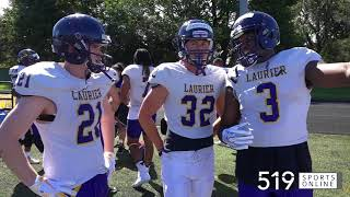"OUA - ""Vanier Cup or bust"" says Laurier Football at training camp"