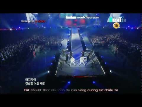 [KEXTSub - Kara][Perf] DBSK - Rising Sun @ Music Bank In Tokyo