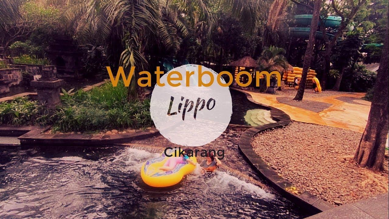 Wahana Seru Water Boom Lippo Cikarang Dan Harga Tiket Masuk Htm