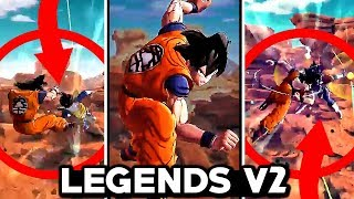 NEW LEGENDS BATTLE VERSION 2! Dragon Ball Legends New Tackle & Combo System Gameplay