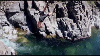 Cliff Jumping In Paradise - GoPro