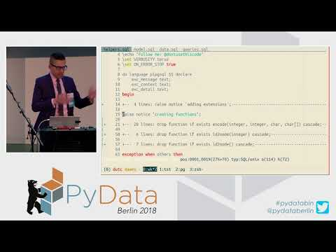 Let's SQL Like It's 1992! - James Powell
