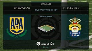 AD Alcorcón - UD Las Palmas MD27 S2000