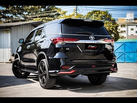 10 Highly Modified 2016 Toyota Fortuner Youtube