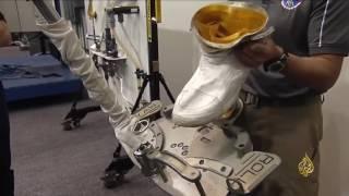 هذا الصباح- تدريب المشي في الفضاء
