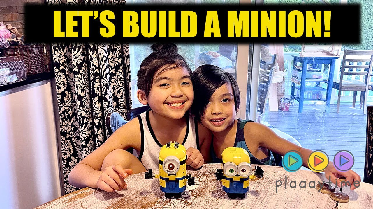 Plaaaytime |  Let's Build A Minion Lego Playset! LEGO Minions The Rise of Gru
