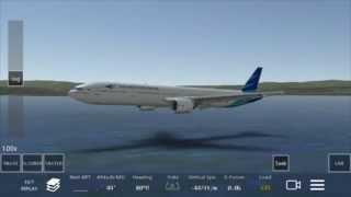 Infinite Flight -Ditching- Landing on the water