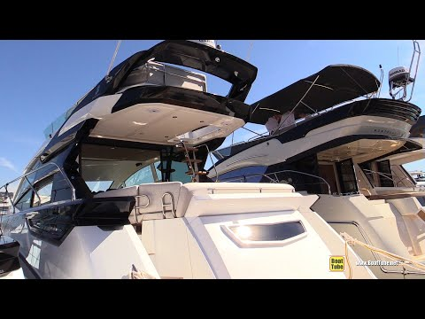 2019 Beneteau Gran Turismo 50 Sport Fly - Deck, Interior Walkaround - 2018 Cannes Yachting Festival thumbnail