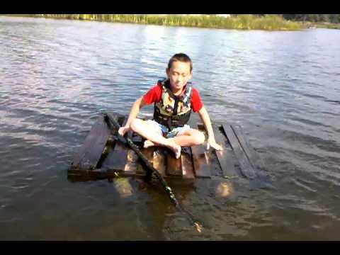How do I build a log raft?