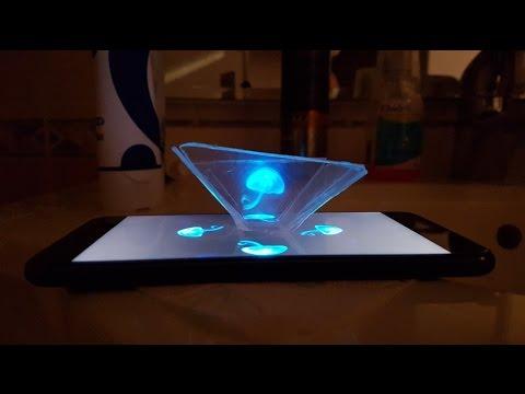 Как да превърнем телефона си в 3D холограма