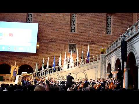 Kalle Leander sings ABBA at the Blue Hall - Stockholm City Hall