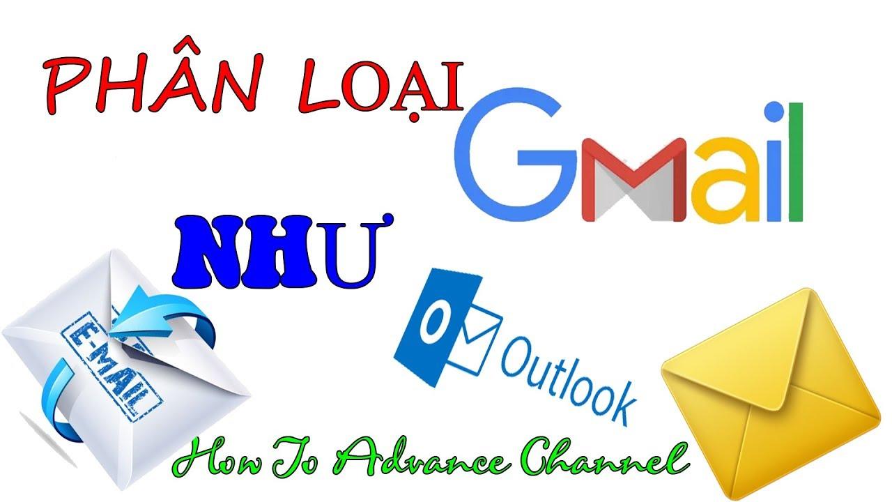 Kết quả hình ảnh cho Phân loại thư trong Gmail