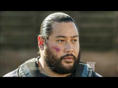 Talking Dead - Cooper Andrews (JERRY) on Morgan
