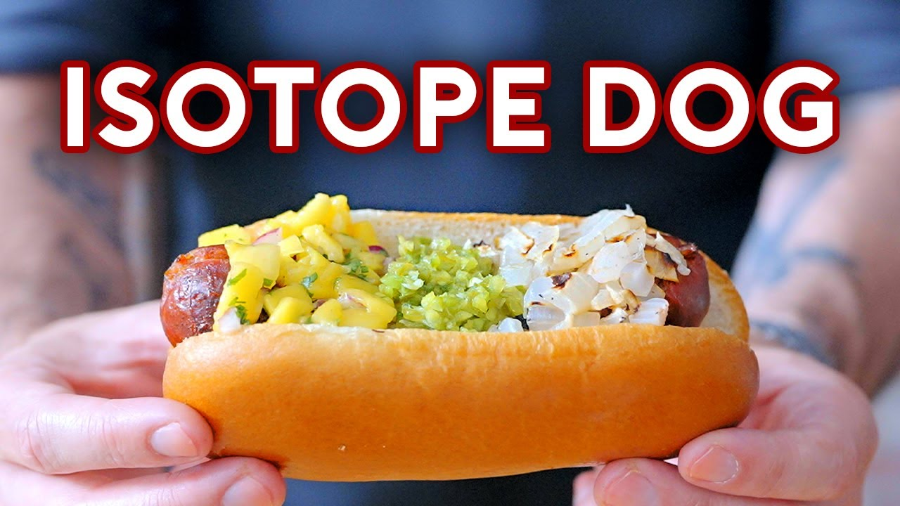 Download Binging with Babish: Isotope Dog from The Simpsons