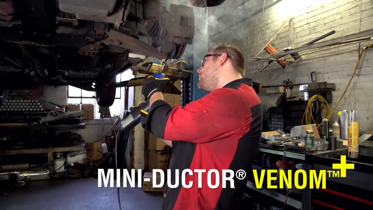 Automotive Induction Heater Mini Ductor Heat Inductor Youtube
