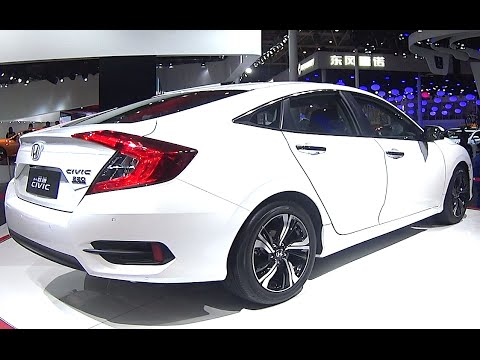 2016 2017 honda civic touring 2 0 l turbo sedan youtube. Black Bedroom Furniture Sets. Home Design Ideas