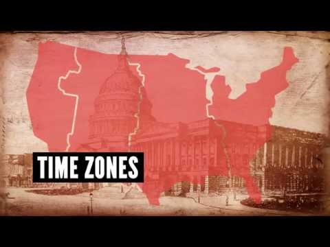 United States Time Zones - Decades TV Network