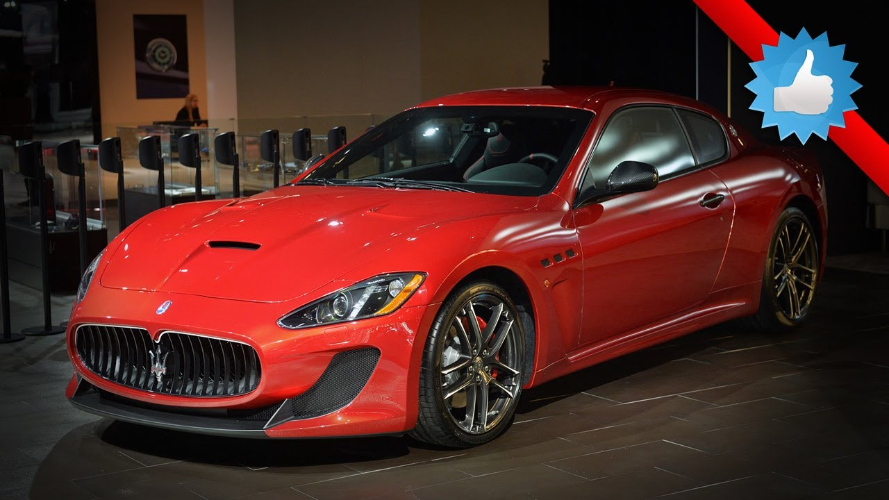 2015 maserati granturismo mc centennial edition new york. Black Bedroom Furniture Sets. Home Design Ideas