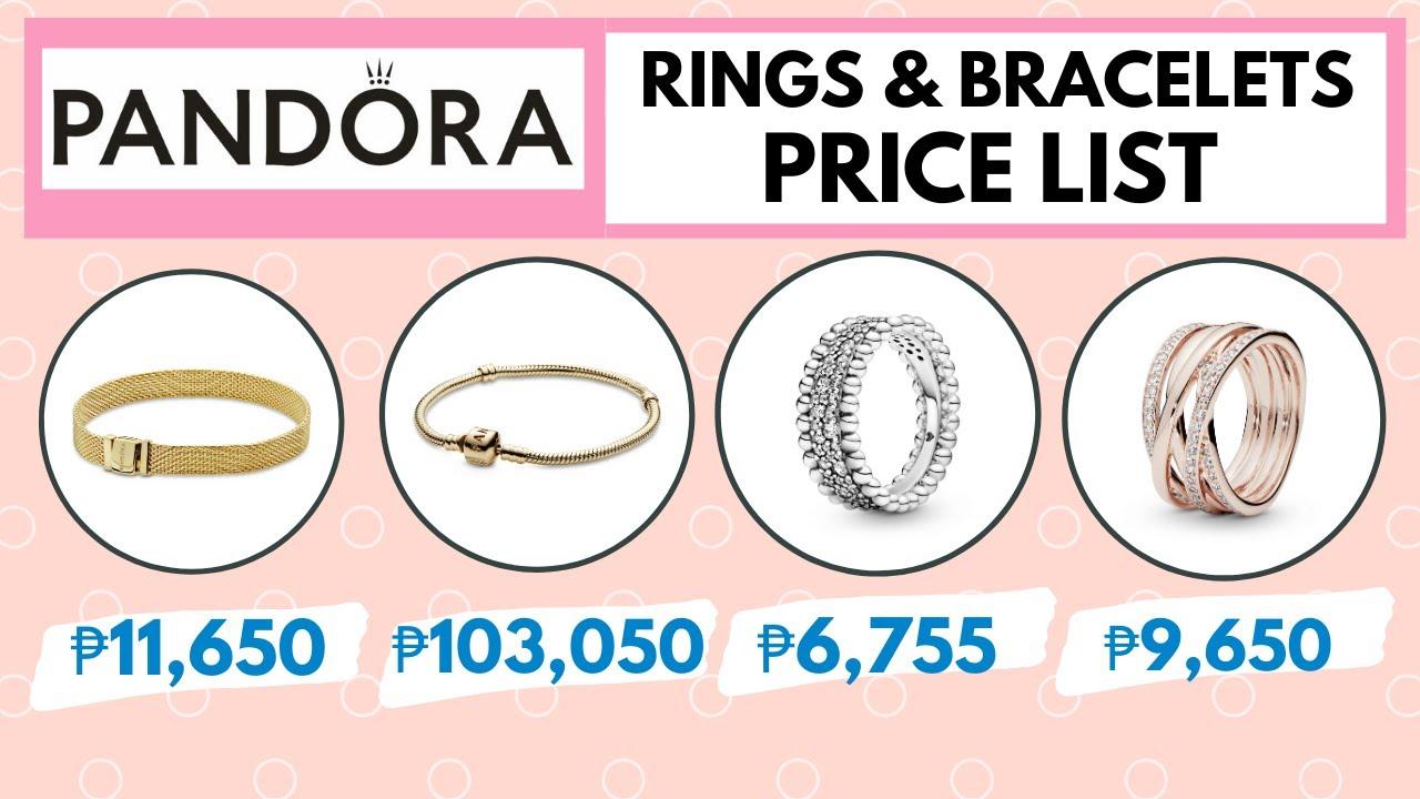 Pandora Ring & Bracelet Price List Philippines | Updated Pandora Jewelry  PRICES 2020