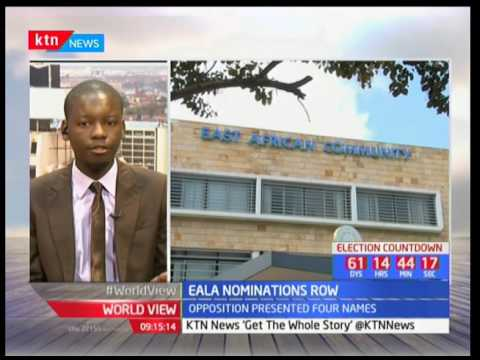 Grand standing over EALA nomination in Kenya