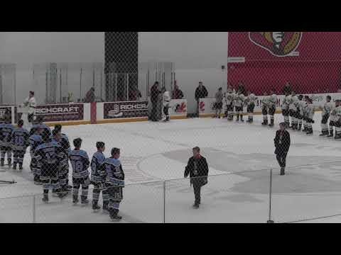 2019 '06 Gloucester Rangers Minor Bantam AA- Gold Rush Finals Vs Barrie Colts Trophy Ceremony
