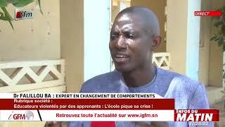Infos du matin - 23 Juin 2021 - Société avec Maimouna Ndiaye