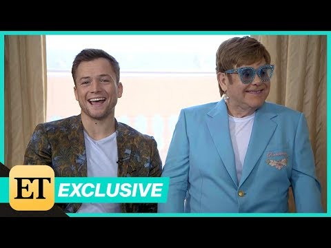 Rocketman: Elton John And Taron Egerton Full Interview (Exclusive)