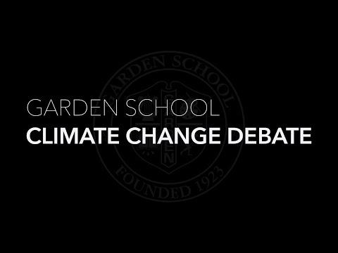 Climate Change Debate | Garden School