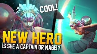 Vainglory News - NEW HERO REVEALED! Captain or Mage!?