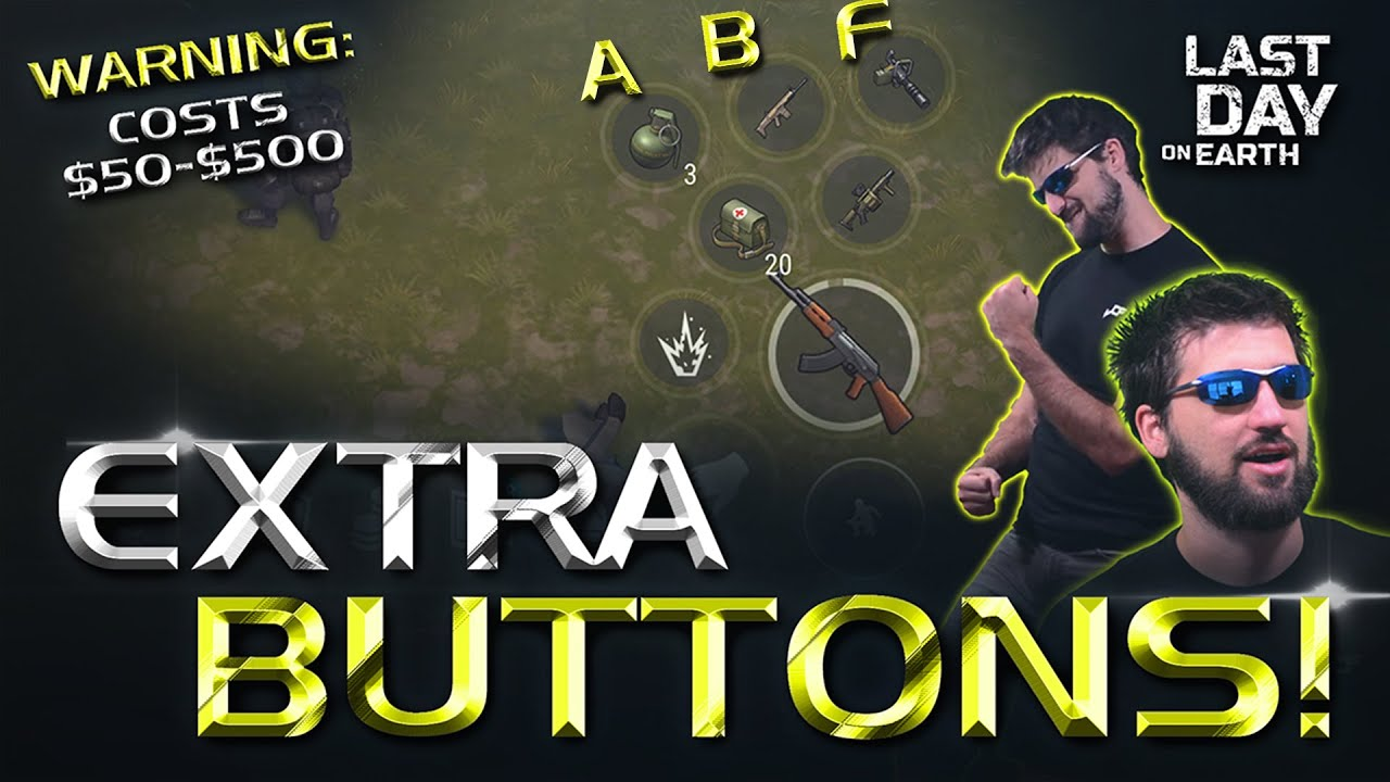 How to get more Buttons on your Phone in Last Day on Earth