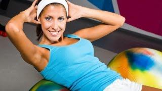 Фитнес тренировка для похудения дома