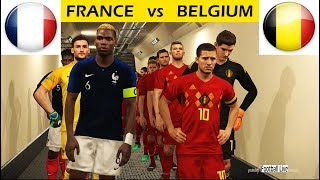 PES 2018 | FRANCE vs BELGIUM | Full Match & Amazing Goals & Penalty Shootout | Gameplay PC