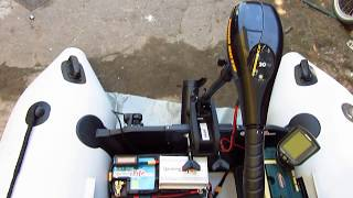 Обзор лодки Кoлибри км 330 с электромотором
