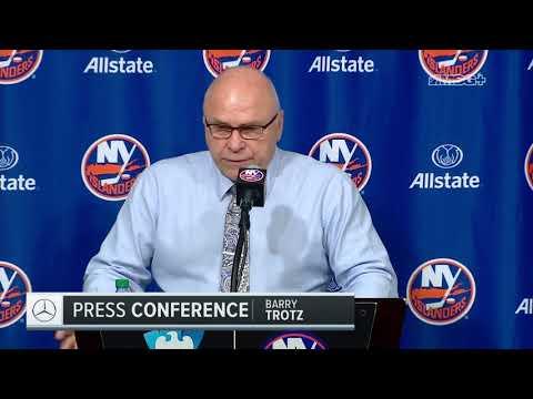 Barry Trotz Encouraged With Effort vs. Predators | New York Islanders | MSG Networks