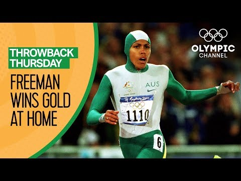 Download Youtube: Golden girl Cathy Freeman meets Australia's expectations | Throwback Thursday