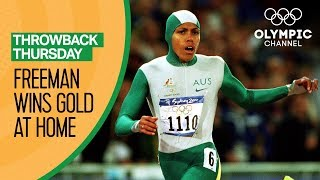 Golden girl Cathy Freeman meets Australia's expectations | Throwback Thursday