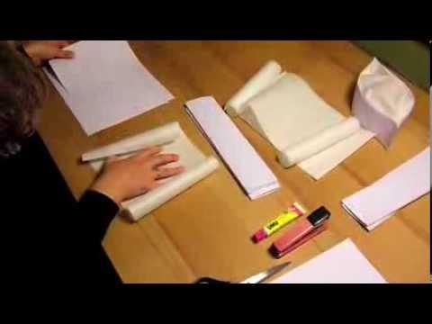 kochm tze oder b ckerm tze basteln youtube. Black Bedroom Furniture Sets. Home Design Ideas