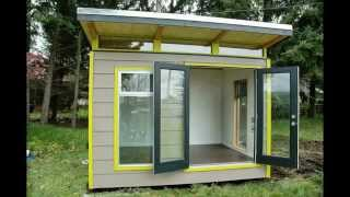 Modern-shed Delivery: Protection Island, British Columbia