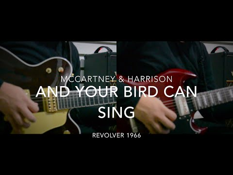 And Your Bird Can Sing  - McCartney & Harrison Duo (Guitar Lesson)