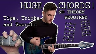 HOW TO PLAY MODERN METAL #2 - Making Huge Chords (With Tabs!)