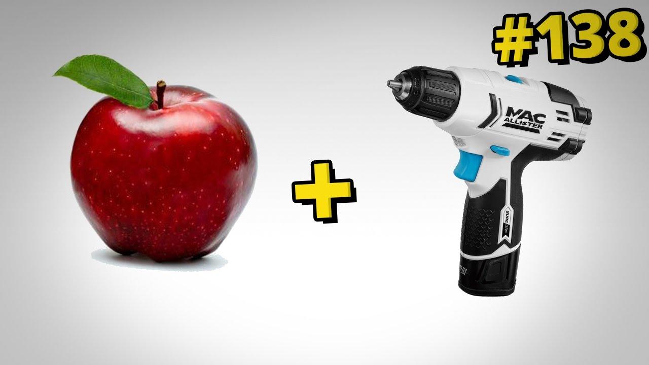 Jak obierać owoce i warzywa za pomocą ... wkrętarki