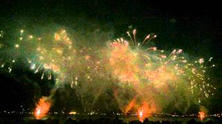 The French Competing at Fireworks... (Cannes 2015)