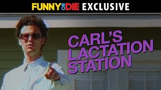 Carl's Lactation Station with Matthew Gray Gubler