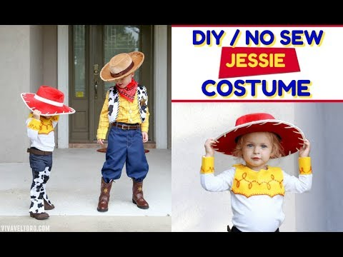How To Make A Jessie Toy Story Costume + EASY Mr. And Mrs. Potato Head Costumes
