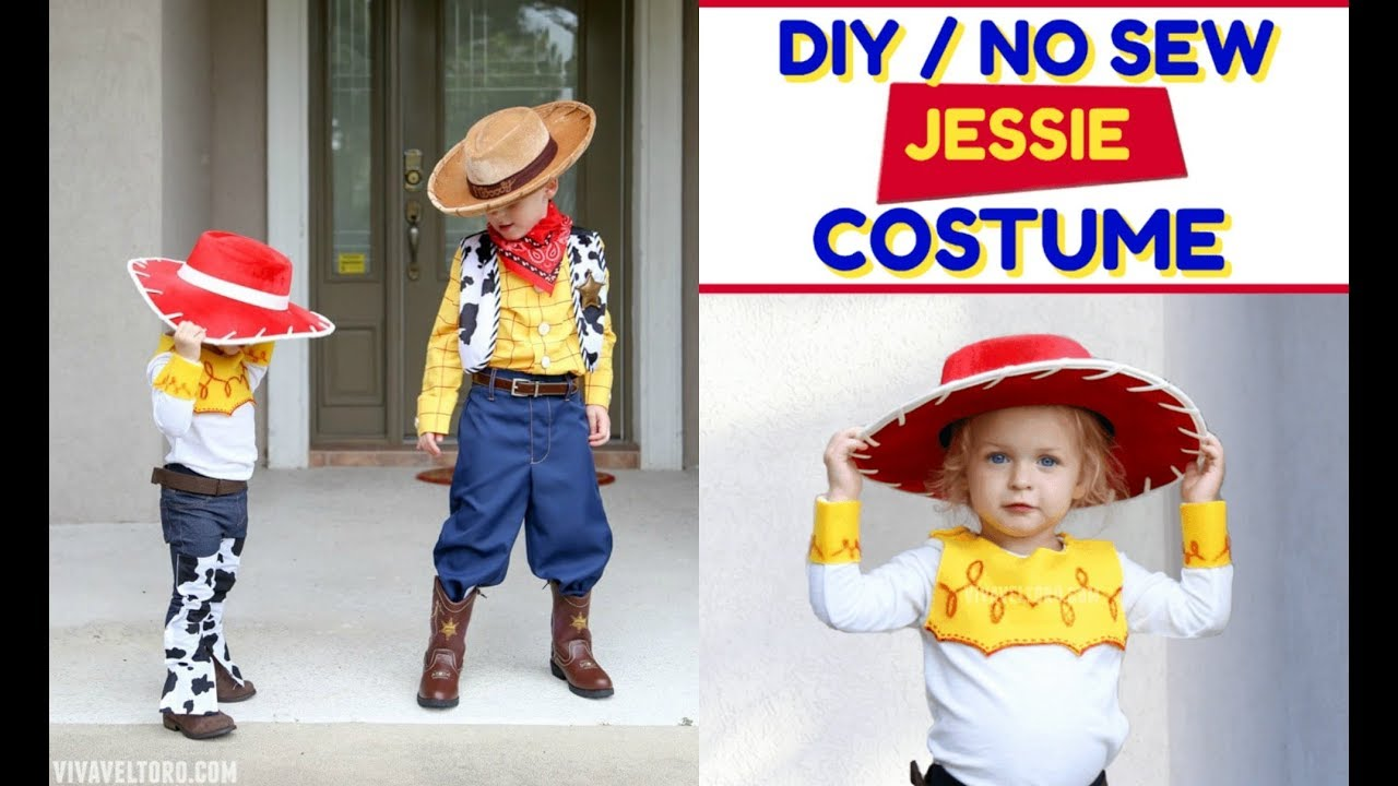 How To Make A Jessie Toy Story Costume Easy Mr And Mrs